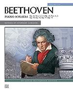 Beethoven Piano Sonatas, Nos. 16-24: Op. 31, Nos. 1,2,3; Op. 49, Nos. 1,2; Op. 53: P[/ 54; Op.7; Op. 78: Alfred Masterwork Edition (Alfred Masterwork Editions)