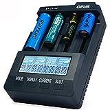 Charger - Opus BT-C3100 V2.2 4Slots LCD Display Smart Intelligent Universal Battery Charger - (Plug: EU plug)