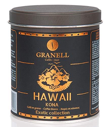 Granell - Exotic Collection - Hawaii Kona | Café en Grano 100% Café Arabica - Café Hawaiano Premium Lleno de Sabor y Aroma - 100 Gramos