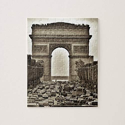 CICIDI Arc de Triomphe, Paris, France Jigsaw Puzzle 1000 Pieces for Adult Entertainment DIY Toys , Graet Gift Home Decor