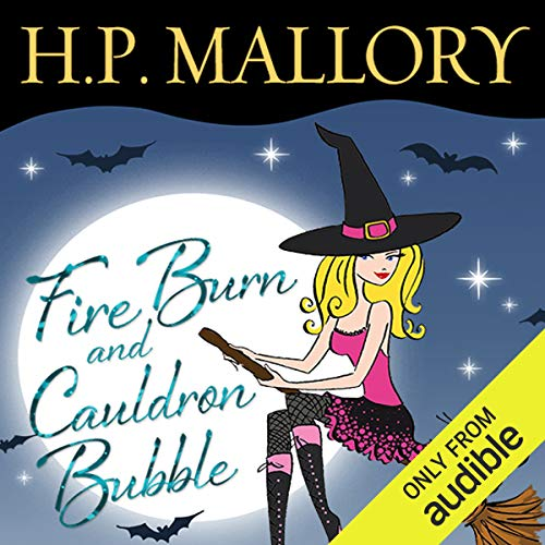 Fire Burn and Cauldron Bubble audiobook cover art