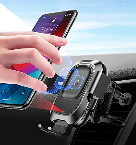 Soporte de coche inteligente de carga inalámbrica ventosa sensor infrarrojo soporte de navegación móvil soporte de coche