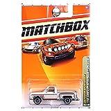 Matchbox  Outdoor Sportsman '75 1975 Chevrolet Chevy Stepside Pickup Truck Silver #76