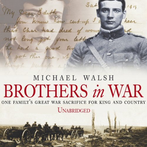 Brothers in War audiobook cover art