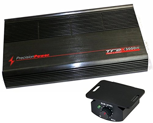 precision TRAX13000D Power 3000W Car Amplifier