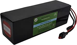 Aegis Battery 24V 12Ah Rechargeable High-Energy Li-ion Battery (PVC) with BMS System for e-Scooters, e-Bikes, Solar Applications, Robots