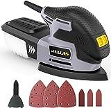 Detail Mouse Sander - JELLAS Compact Sander Machine for Wood, 13,000...