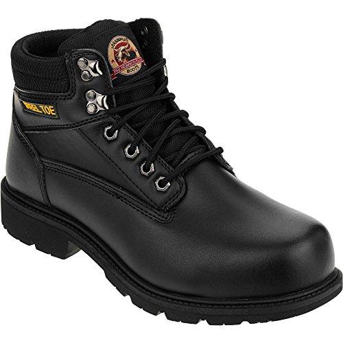 Brahma Men's Gus Steel Toe 6' Work Boot (6.5)