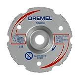 Dremel DSM600 Disque - Lame pour Scie Compacte Circulaire pour Découper à Ras Bois et Plastiques, Diamètre 77 mm
