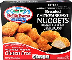Bell & Evans, Gluten Free Chicken Nuggets (Raised without Antibiotics), 12 oz (Frozen)