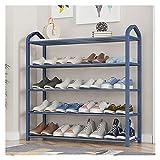 Almacenamiento de zapatos Organizador de la barra de zapatos, estante de zapatos de 5 niveles, estantería de zapatos...