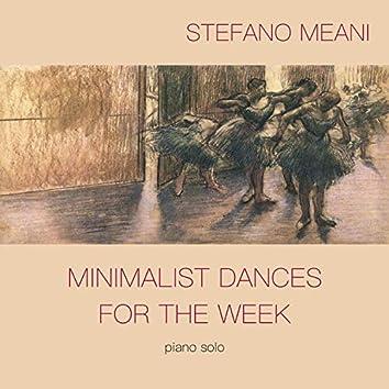 Minimalist Dances for the Week