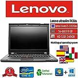 NOTEBOOK RICONDIZIONATO T430S I5 3320M 2.60 GHZ 8GB 240GB SSD W10 PRO (Ricondizionato) )
