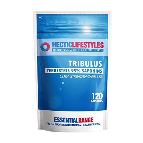 Tribulus Terrestris 6500mg Higher Strength 95% Saponins - 120 Capsules