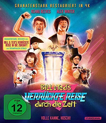 Bill & Teds verrückte Reise durch die Zeit & in die Zukunft / Limited Collector's Edition [Blu-ray]