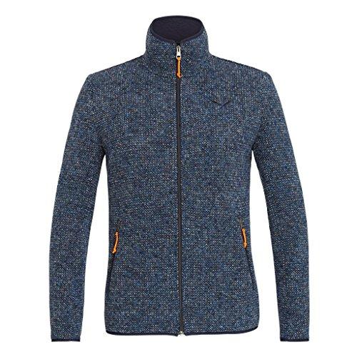 Salewa Corda Herren-Sweatshirt, 2-lagig, mit Reißverschluss, Poseidon, EU-Größe 52   XL 2019