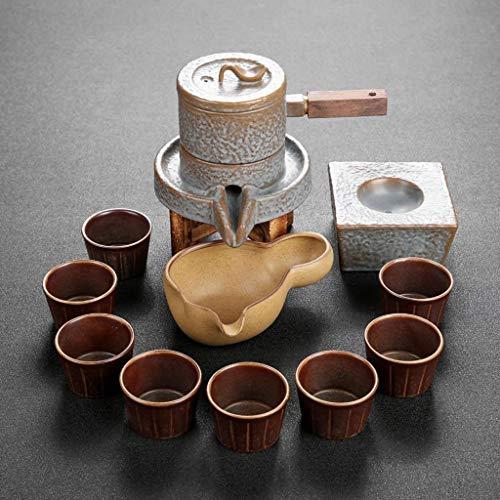 FGDSA Tea Set Teapot Handmade Purple Clay Tea Pot Cup Set,Zisha Ceramic Chinese Tea Ceremony Gift