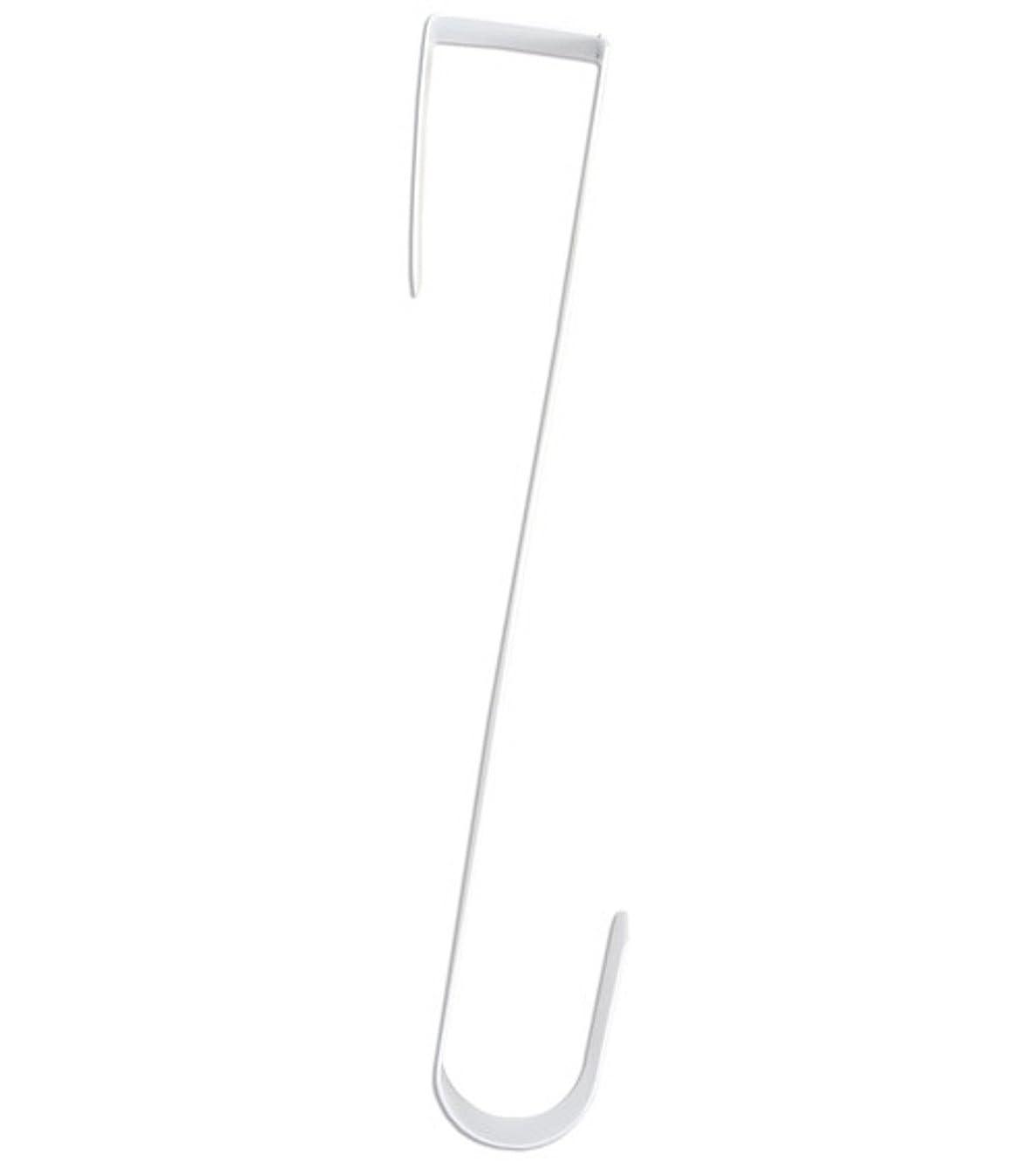 Darice 12 Inch Heavy Duty Door Wreath Hanger (White)