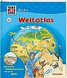 WAS IST WAS Junior Weltatlas für Kinder: Welche Kontinente gibt
