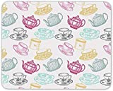 Cute Retro Teacup Mouse Mat Pad - Tea Teapot Mum Sister Gift PC Computer #8714