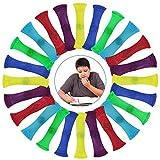 Kulannder 24 Pièces de Jouets Fidget, Soulager Le Stress pour Les Enfants, Jouet de décompression en marbre pour Améliorer la Concentration des Patients autistes