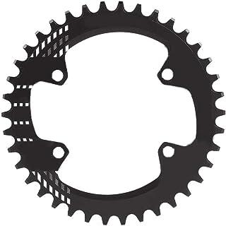 Tbest Plato de Bicicleta de Montaña,96 mm BCD 32T 34T 36T 38T Plato Ancho Estrecho Anillo de Cadena de Bicicleta Plato de Aluminio Solo Plato Sram Compatible M6000 M7000 M8000 Shimano MTB BMX