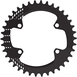 Vbestlife Speed Bicycle Chainring,BCD 96MM Chainring MTB Bike Narrow Wide Round Oval Single Chain Ring for Shimano M6000 M7000 M8000