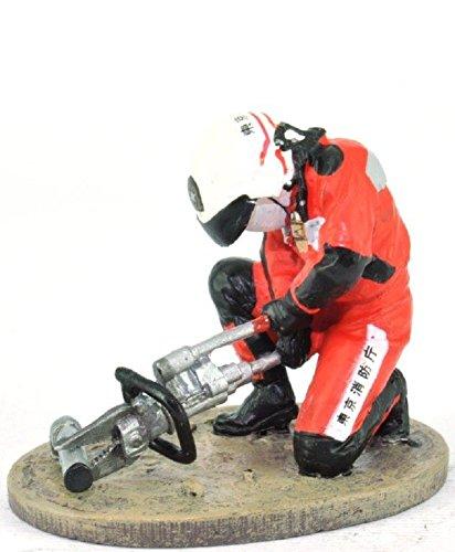 Del Prado Sammelfigur Feuerwehrmann Firefighter Figur Tokio Japan 2004 1:32 ca. 6 cm Metall