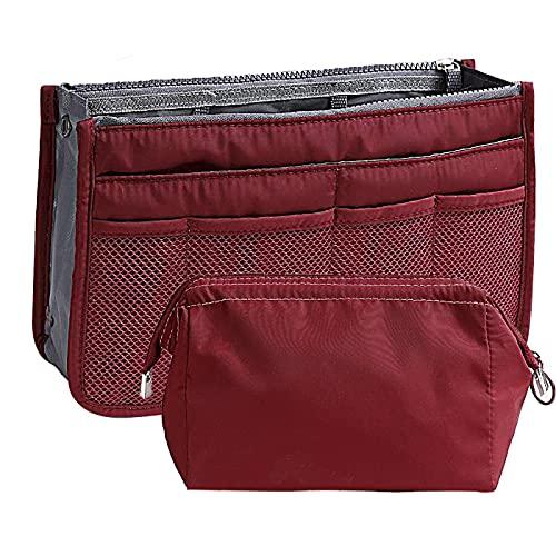 2つ入れ 化粧ポーチ 化粧品収納 ポーチ レディース メイクボックス トイレタリーバッグミニ 防水 かわいい トラベルポーチ 男女兼用 大容量 出張 旅行グッズ 財布