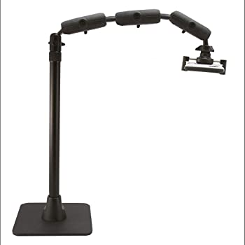 Arkon Pro Phone or Camera Stand for Baking, Crafting, Nail Art, Ceramics, or Makeup Videos Retail Black