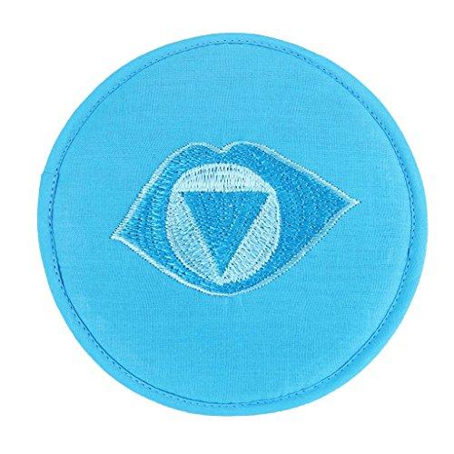 HomeDecTime Stickstoff Esstisch Matte Klangschale Untersetzer Wärmeisolierung - Blau 20cm