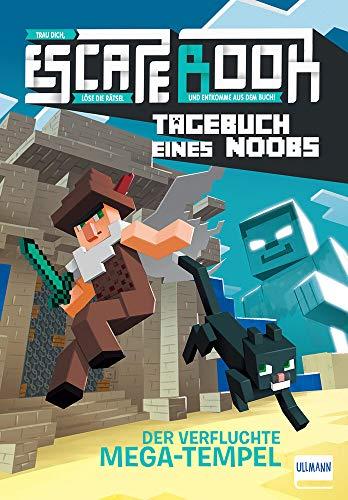 Escape Book - Tagebuch eines Noobs: Der verfluchte Mega-Tempel (Escape-Buch für Kinder)
