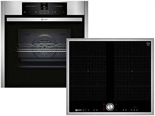 Neff Set Basic 613 Einbau-Backofen Induktion Kochstelle Herd Backofenset Küche