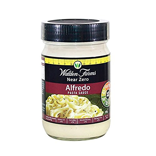 Walden Farms Alfredo Pasta Sauce - 340 gr