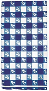 Creative Converting Plastic Banquet Table Cover, One Size, Blue Gingham