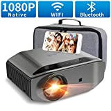 Artlii Videoprojecteur Full HD-ENERGON 2, Connexion WiFi Bluetooth,Projecteur 1080P natif,Soutiens 4K,Retroprojecteur Compatible avec iPhone Android Smartphone pour Films,Jeux Nintendo Switch PS4