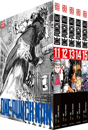 ONE-PUNCH MAN - Box mit Band 11-15: -limitiert-