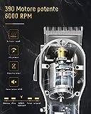 Zoom IMG-1 suprent tagliacapelli uomo professionale elettrico