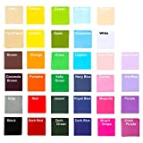 Exquiss 3400 Sheets Tissue Paper Squares 4 inch Bulk 34 Colors for Art Paper Craft Scrunch Art Kids Craft DIY...