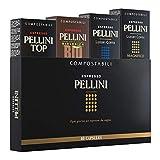 Pellini Caffè - Espresso Pellini Mix Multigusto (Giftbox da 40 Capsule), Compatibili Nespresso