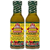 Bragg Dressing & Marinade Vinaigrette Organic 12 oz (Pack of 2)