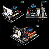 ATX Computer Open Air Case Bracket Acrylic DIY Bare Frame support Graphics Card