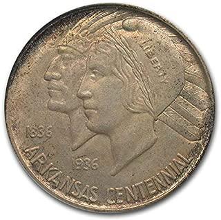 1936 D Arkansas Centennial Half Dollar MS-65 PCGS Half Dollar MS-65 PCGS