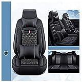 Cojines de asiento de coche transpirables delanteros y traseros de repuesto para A2 A3 A4 B6 B8? B7 Universal Fit Full Set Fundas protectoras de cojín de asiento de coche accesorios acolchados, 5 asi