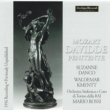 Wolfgang Amadeus Mozart : Davidde Penitente