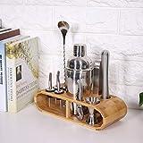 Kit de batedeira de aço inoxidável para barista, acessórios de barista, ferramentas martini para coquetéis