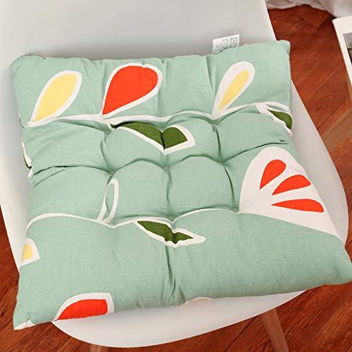Hamkie stoelkussen voor kantoor, tafelloper, canvas, verdikking, comfortabel kussen, modern