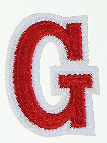 Parche para coser o planchar de la marca Rechere, diseño de 26 letras del alfabeto en mayúsculas