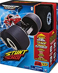 SAFE AND FUN INDOOR RC: Stunt Shot's super-soft foam wheels make it different from any other RC. It drives on and over anything with ease and won't wreck walls, furniture or scratch floors. MASTER AMAZING STUNTS: Stunt Shot can do flips, 360-degree s...