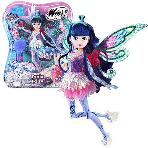 Winx Club Musa | Tynix Fairy Puppe Fee mit magischem Gewand | Staffel 7